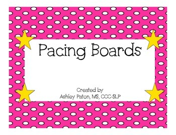 Pacing Boards for Speech Therapy