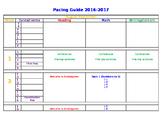 Pacing Guide 2016-17