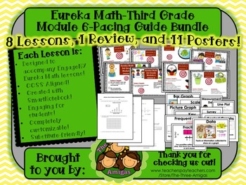 Pacing Guide Bundle Module 6 Eureka Math Third Grade