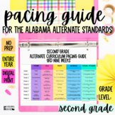 Pacing Guide For The New Alabama Alternate Achievement Standards- Second Grade