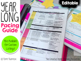 Free Pacing Guide Template for Year-Long Planning
