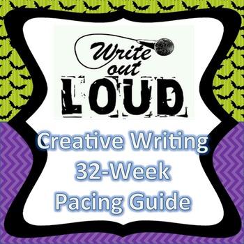 Creative Writing Pacing Guide (editable)