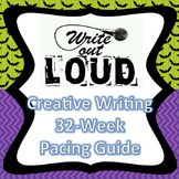 Creative Writing Pacing Guide {editable}