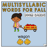 Pacing Multisyllabic Words  | Segment Syllables | Speech Therapy | Articulation