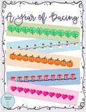 Pacing Strips- An Entire Year of Pacing in Speech Therapy