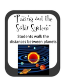 Pacing the Solar System- Planet Walk Distances Astronomy Inquiry Activity