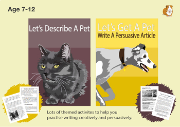Pack 1: Lots Of Writing Tasks With An Animal Theme (7-11 years)