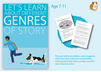 Pack 2: Write Lots Of Stories About What We Do (7-11 years)