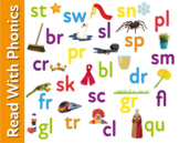 Pack 22. Games To Practise Blending Sounds To Make Double Consonant Blends 3+