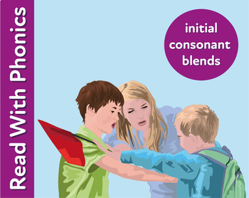 Pack 23. Blend Phonic Sounds Together To Make Words With Double Consonant Blends