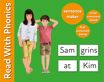 Pack 24. Use The Sentence Maker To Make Sentences With 3, 4 And 5 Letter Words