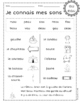 Pack #3 - Je connais les sons (French Sound Worksheets for AU/EAU EU/OEU QU GU)
