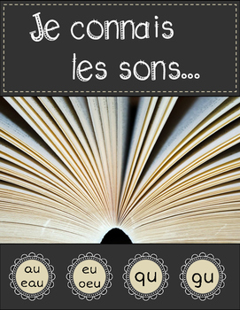 Pack #3 - Je connais les sons (French Sound Worksheets for
