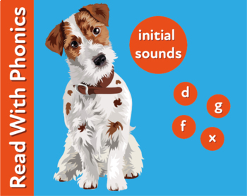 Pack 3. Learn The Initial Phonic Sounds ' d, g, f, x (Pre Reader Work Pack) 3+