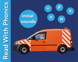 Pack 4. Learn The Initial Phonic Sounds 'v, n, p, w, e' (Pre Reader Work Pack)