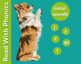 Pack 7. Learn The Initial Phonic Sounds 'j, y, z, qu, l' (Pre Reader Work Pack)