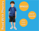 Pack 8. Play Word Picture Bingo To Learn 3 Letter Words (Pre Reader Work Pack)