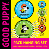 Pack Hanging Set . Child Behavioral & Emotional Tools by GOOD PUPPY
