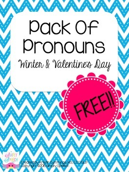 Pack Of Pronouns: Winter & Valentine's Day Edition!
