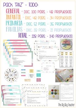 """Pack """"PROPUESTAS Y MATERIALES PARA LA PAZ"""" - TODO"""