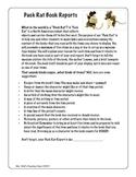 Pack Rat Book Report