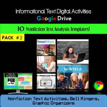 Pack Two: Informational Text Graphic Organizers and Bell R
