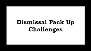 Pack Up Challenges
