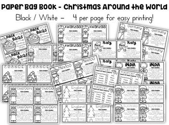 Pack Your BAGS! {Christmas Around the World BAG Book}