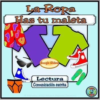 Pack Your Bags Interactive Powerpoint Activity / Powerpoint Haz Tu Maleta