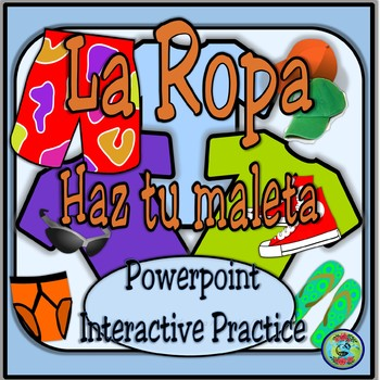 Pack Your Bags Interactive Powerpoint Activity / Powerpoin