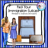 Pack Your Immigration Suitcase Craftivity