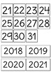 Pack calendario en catalán