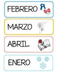 Pack calendario en español