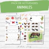 Pack de Actividades - Animales