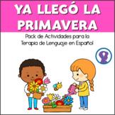 Pack de Actividades de Lenguaje y Articulación para Primavera y Pascua