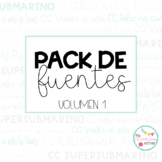 Pack de FUENTES Vol. 1