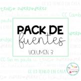 Pack de FUENTES Vol. 3