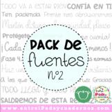 Pack de Fuentes nº2 EIC (Entre iPads y Cuadernos)