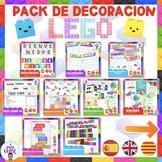 Pack de decoración de LEGO- LEGO Theme Classroom Decor- En