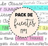 Pack de fuentes nº1 - EIC (Entre iPads y Cuadernos)