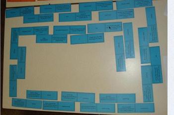 Pack of 10 Domino Loop Games: Biology Topics