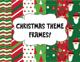 {Christmas Theme} Pack of 20 frames and borders