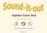 Alphabet Games Pack for Reception(UK)/Pre-K/K