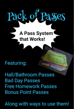 Pack of Passes