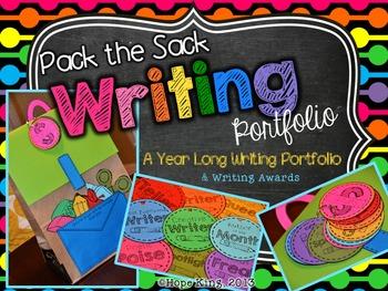 Pack the Sack: Writing Portfolio and Monthly Writing Awards