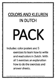 Pack to teach Dutch - Colors