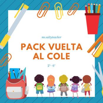 Pack vuelta al cole 2-6