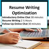 Package 1: Resume Writing Optimization