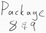 Package 8 & 9