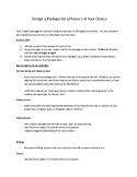 Package Design Project - Math Enrichment Activity